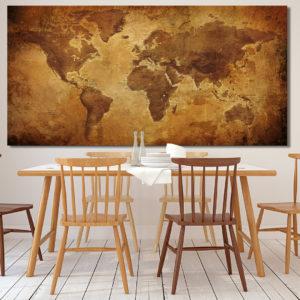 Ancient World Map – Giza