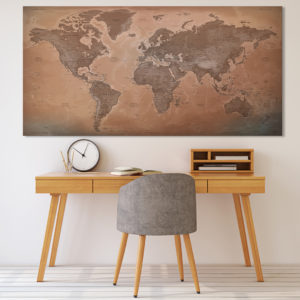 Beautiful World Map – Luxor