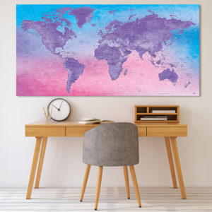 Decoration World Map – Fuji