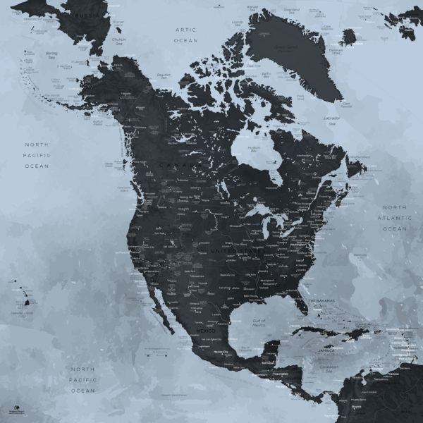 North-America-Map-Original