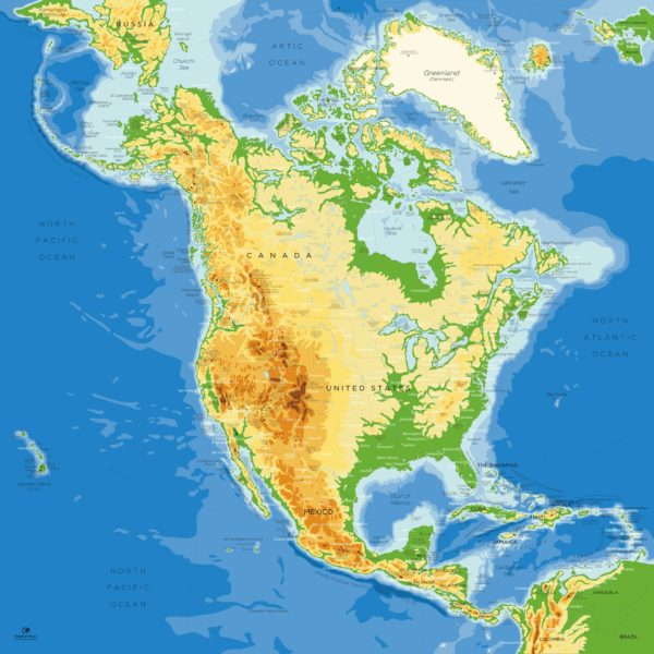 North-America-Map-Updated