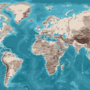 Wall Planisphere – Moai