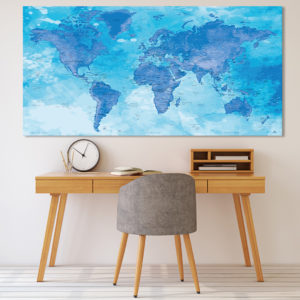 Planisphere Poster – Chefchaouen