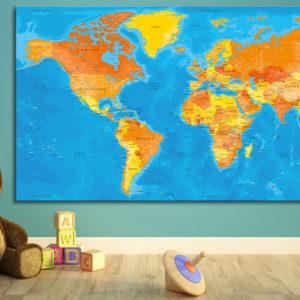 World map – Bagan