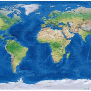 Winkel-Tripel Projection World Map
