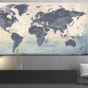 XXL World Map – Naïca