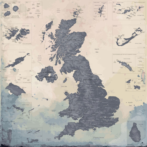 United-Kingdom-Map-Moderne